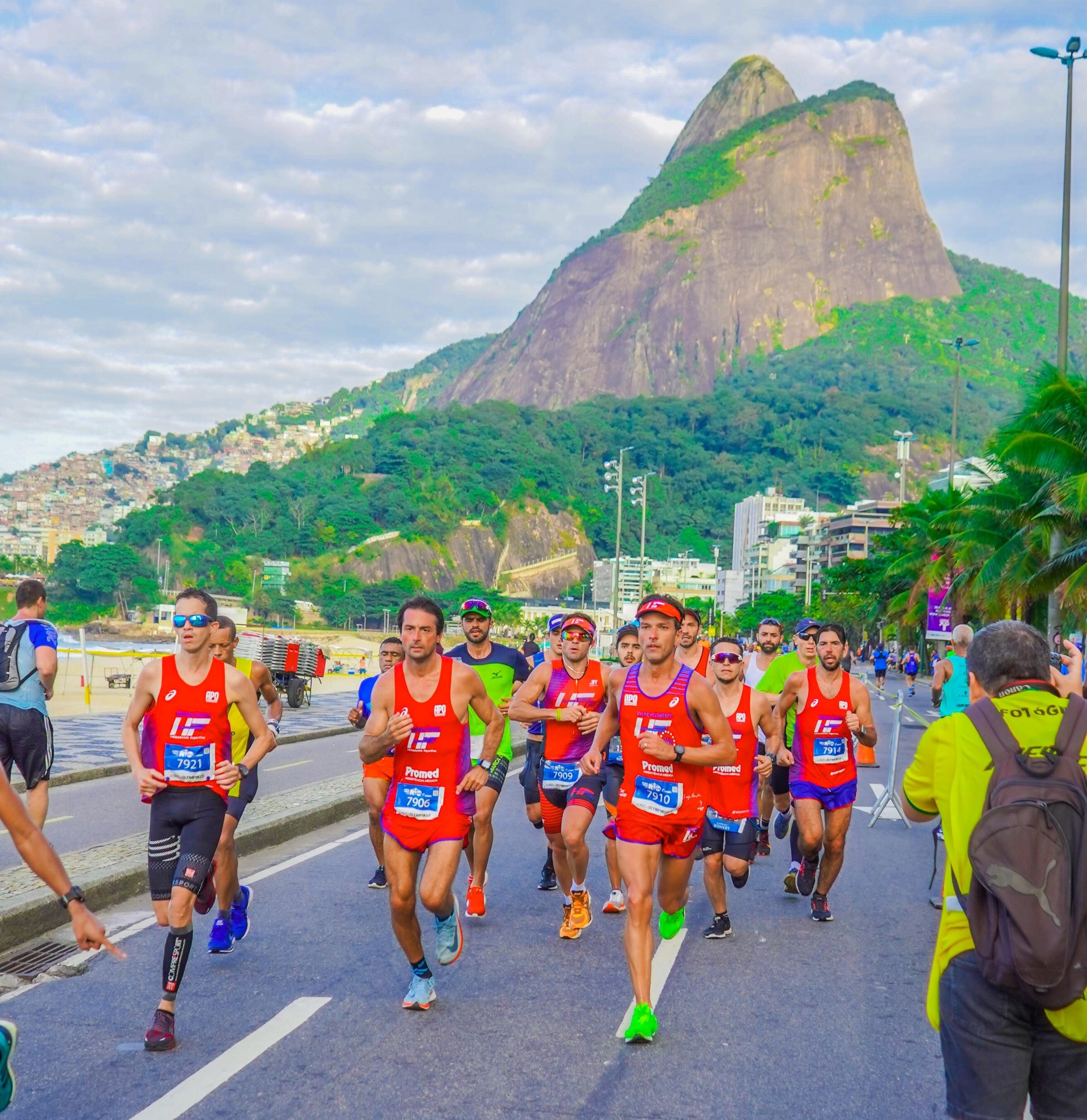 Maratona do Rio: espírito de equipe e resiliência